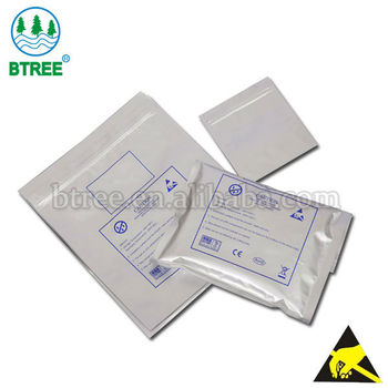 Btree antistatic bag for static sensitive components