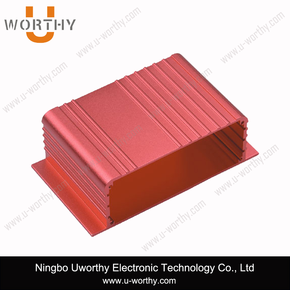 Different Surface Treatment Extruded Aluminum Enclosure Aluminum Alloy Extrusion Profile Case