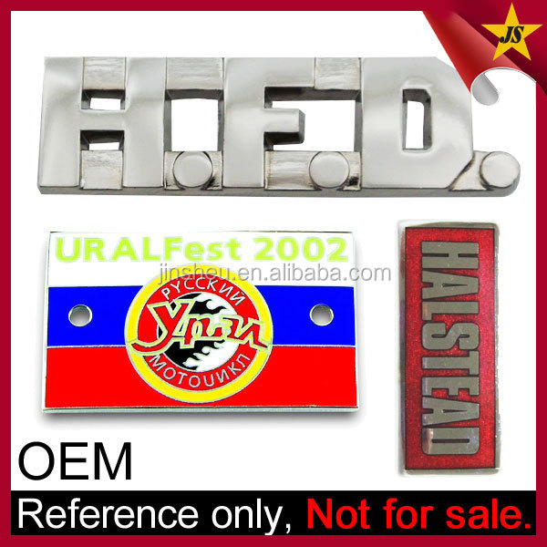Wholesale Chrome Car Emblems Badge Auto Custom Metal Logo