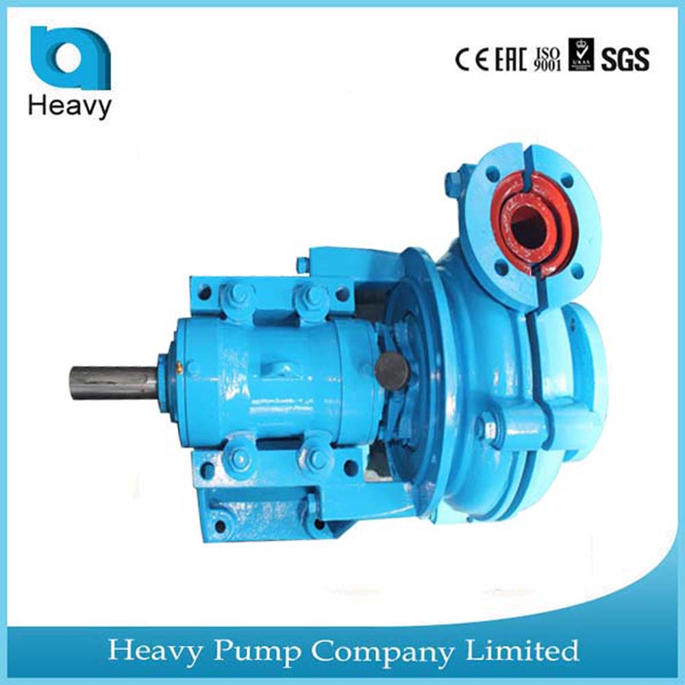 industrial pumps in zircon mining and iron coal mine slurry pump