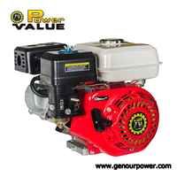 mini small 4 stroke water pump gasoline engine, 5.5hp gasoline engine gx160 for sale