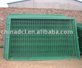 plastic coated barrier,wire fencing