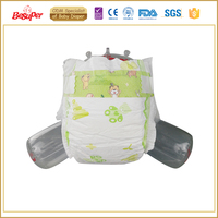Raw material for reusable whisper cloth baby diaper