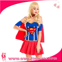 Newest design sexy superman costume