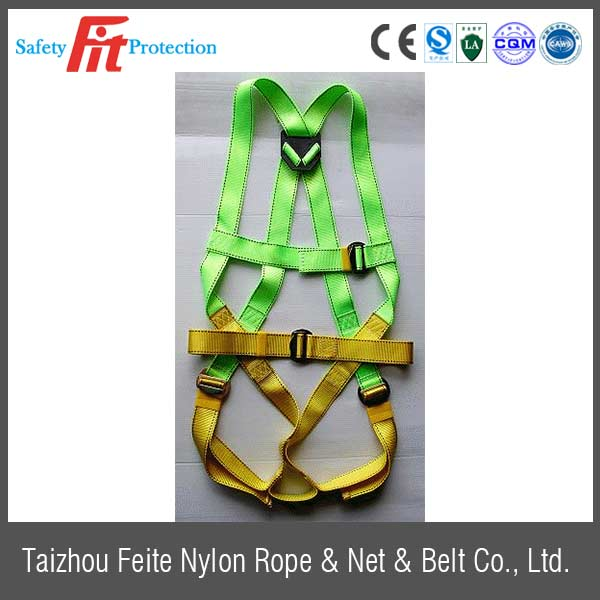 full body harness with retractable shock absorber