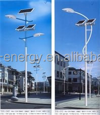 Solar Powered Energy LED Street Lights Applied in Many Countries