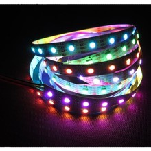 APA102 5V digital strip light addressable led strip from ledworker china factory