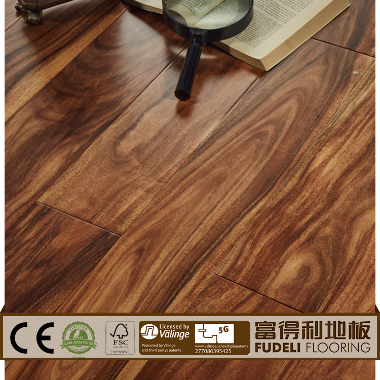 Exotic 3-ply engineered timber flooring