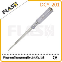 Electronic Voltage Pocket Clip Circuit Tester Pen Screwdriver