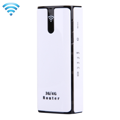 LY50 3G High Speed 21.6Mbps WCDMA HSPA+ Mini Mobile WiFi Router, Support 4400mAh Power Bank Charger