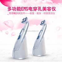 2016 new products facial microcurrent portable Slimming machine and colour photon ultrasonic beauty skin instrument