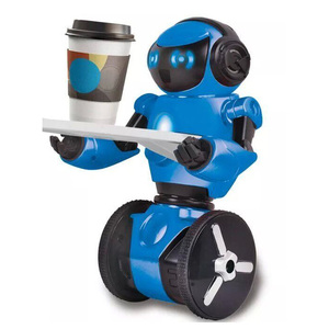 New Arrival Two-wheel Intelligence Robot Toys Multifunctional Dancing and load bearing Robot Wholesale