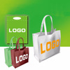 Custom Logo image shopping bag non-woven all kinds of promotional bag making