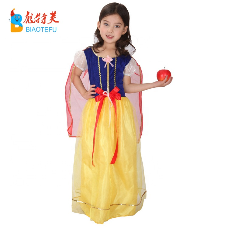 girl snow white princess cosplay fancy dress costumes