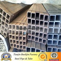 Low Carbon Thin Wall Hollow Section Steel Tube and Pipe