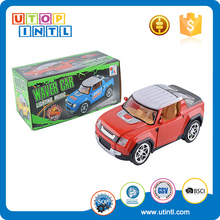 Small music dance b/o play game battery operated toys racing cars