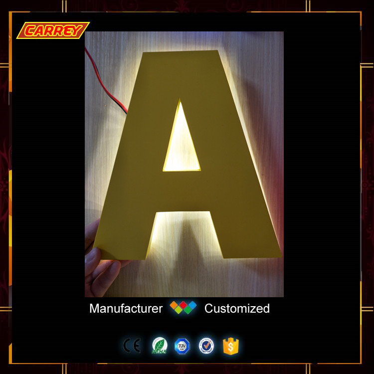 Wholesale cheap 3d led lighted channel sign letters