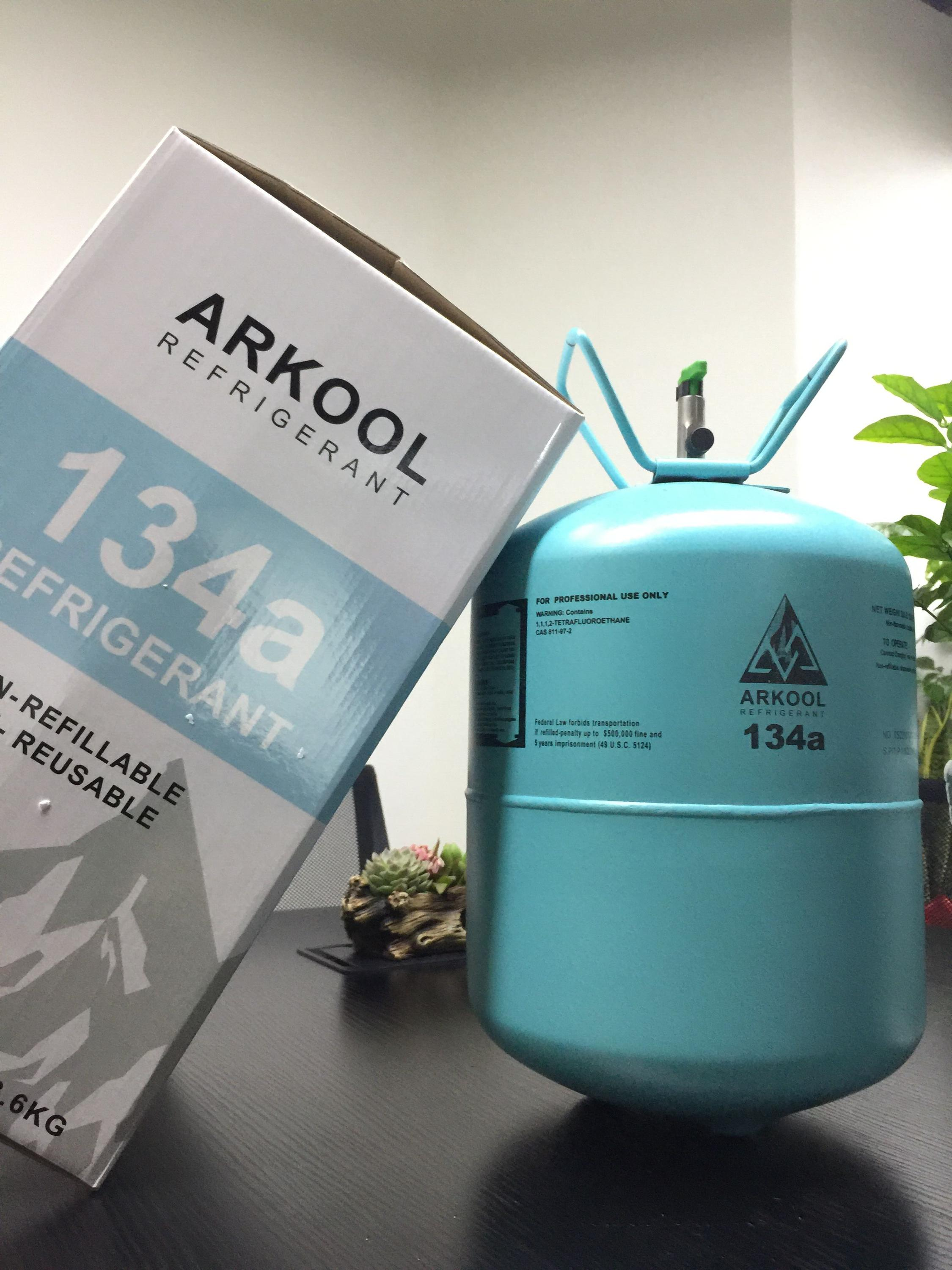 refrigerant gas r134a air conditioning arkool