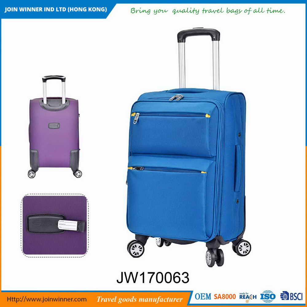 Manufactory Wholesale Leopard Luggage Chinese Manufacturer