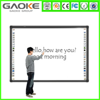 New model top quality for sale 82inch ir touch interactive whiteboard 4 user smart electronic education board china