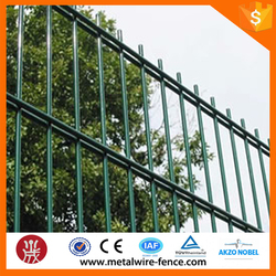 Green Double Wire Mesh Fence(manufacturer)