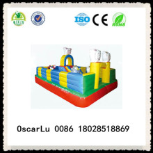 pleasant sheep inflatable castle commercial used inflatable castle for children for sale (QX-18125C)