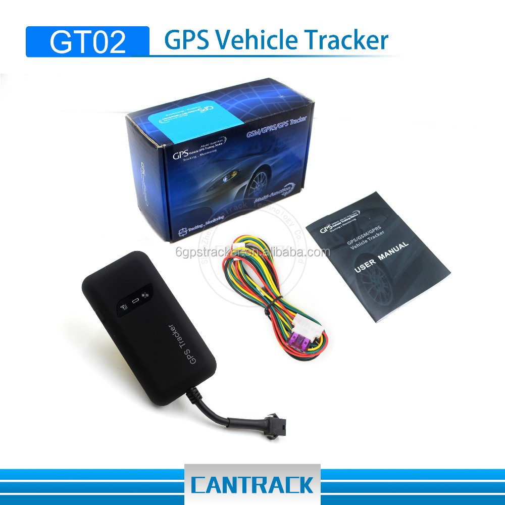 Unique Design gps tracker car GT02 gprs google map online gps tracer gps tracking sensors with GSM quad-band frequency