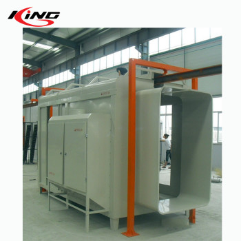 overhead conveyor powder coating line