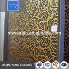 embossed mdf board Decorative wall panels 3d