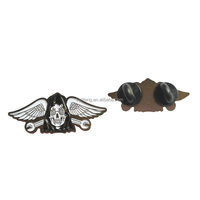 Wholesale Metal Wing Badge Lapel Badge Pin Custom