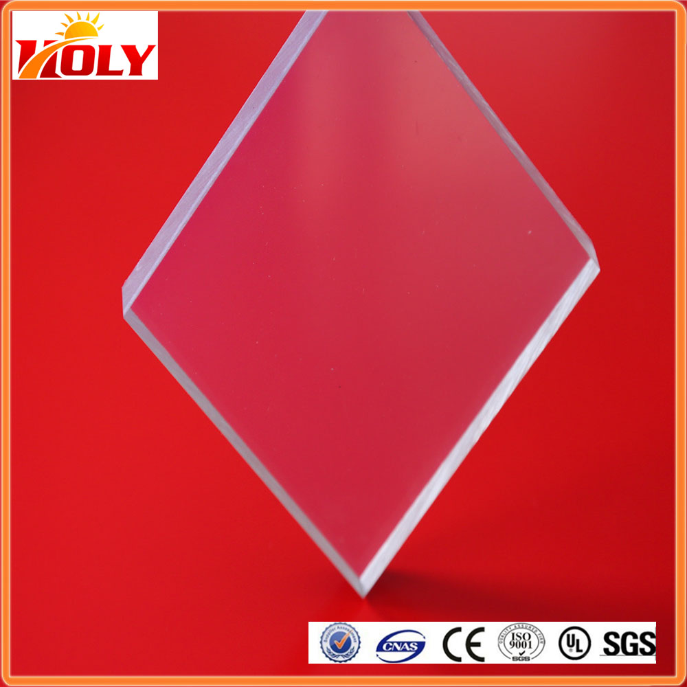 Multi color polycarbonate pc solid sheet LED lighting polycarbonate block for house skylight