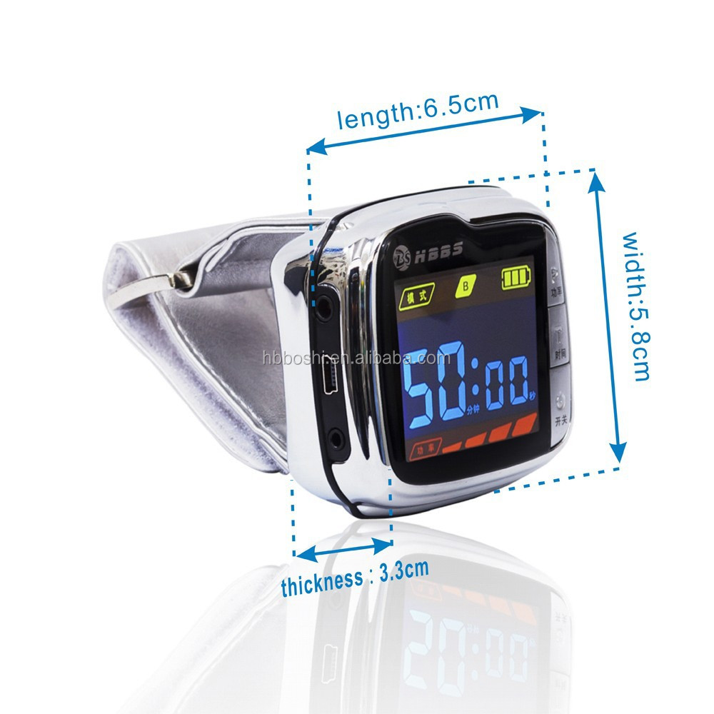 looking for distributors hypertension low level laser therapy machine pulse wrist watch