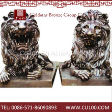 Hot selling Promotional Hot sale brass lion statue