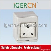 south Africa outdoor IP65 waterproof wall socket and switch