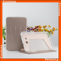 Tablet new product Pu Leather Stand Case for Samsung GalaxyT110 Tab3 lite