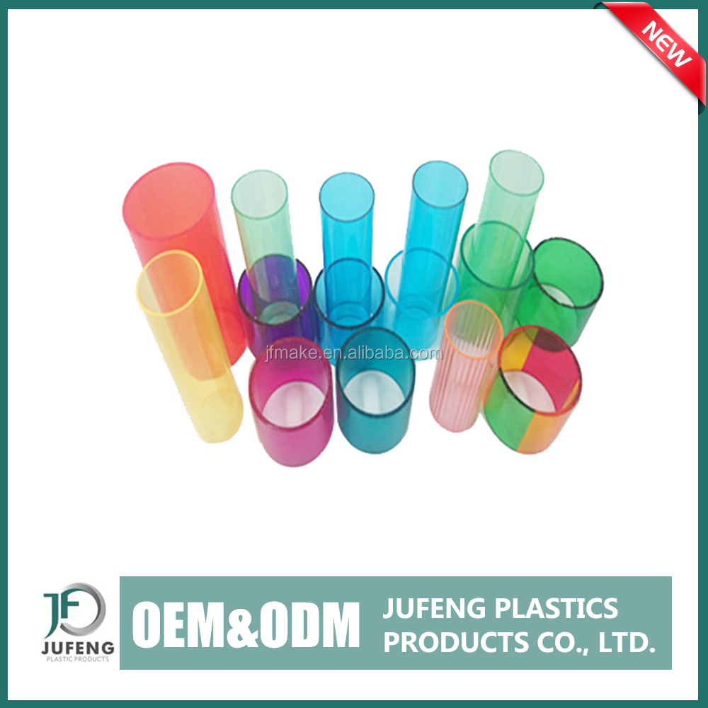 Alibaba hot sales good dimensional stability colored polycarbonate tube