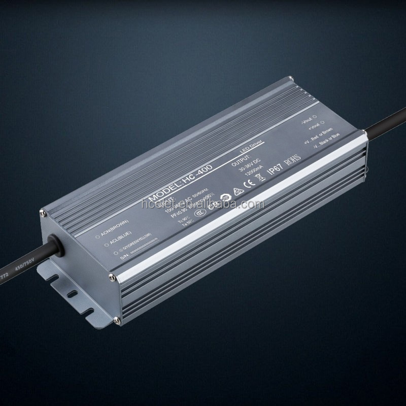 Hcelet 400w LED constant current power supply, quality assurance for 3 to 5 years, lightning protection 6 kv