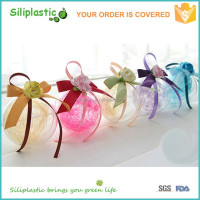 Clear Glass Hanging Christmas Ornaments Balls for Decoration