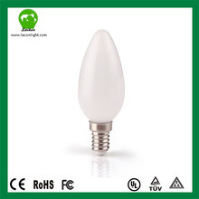 Pygmy bulbs e14 LED light Candle 4W 450LM 35*95mm CE & RoHs& ERP Approval