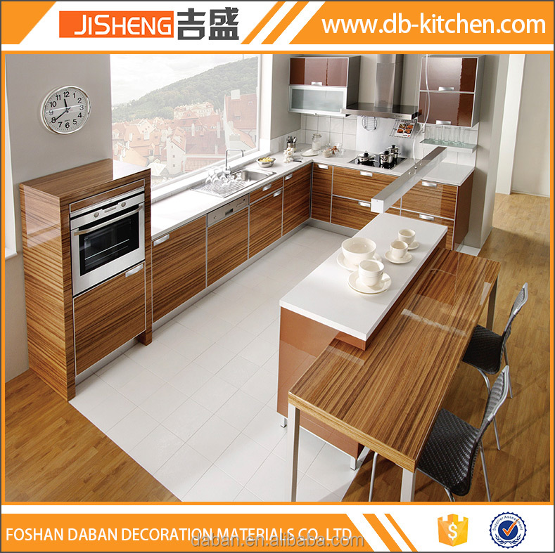 Complete kitchen cabinet set prefab kitchen cabinet design for Full set kitchen