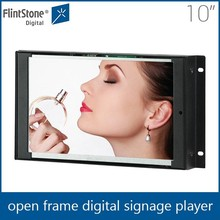 FlintStone 10.1 inch open frame wall mounted LCD retail digital signage sign