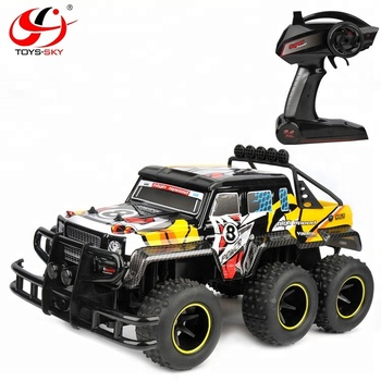 1/12 Scale 4X4 RC Truck 4WD rc 6 wheel drive trucks 2 Level Adjust Controller