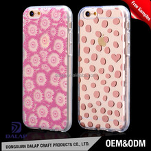 full color case with tpu bumper, for iphone 6 case