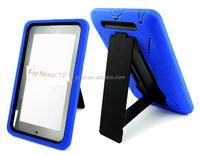 Drop resistance silicone bumper case for Google Nexus 7 inch tablet protective armor