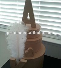 wedding stage decoration, party decoration ostrich feather
