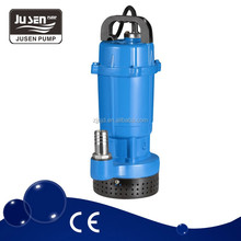 QDX3-20-0.55F new good quality 0.75hp aluminium body small electric submersible water pumps 220v