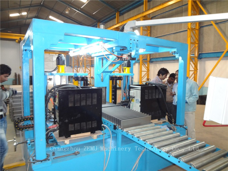 Manufacturer of transformer fin wall panels machines