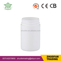 300ml HDPE wide mouth plastic bottle