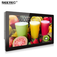 Hot sell advertisement player kiosk open frame ips panel led display bus monitor 20 inch touch screen lcd