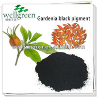 WELLGREEN natural food coloring gardenia black